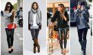 2019 En Moda Tayt Kombinleri